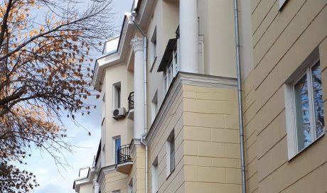 Ремонт фасада Волжский проспект, 39